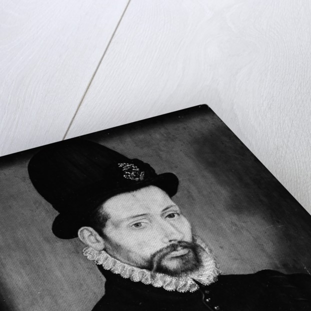 Portrait of a Man with a High Hat by Unknown