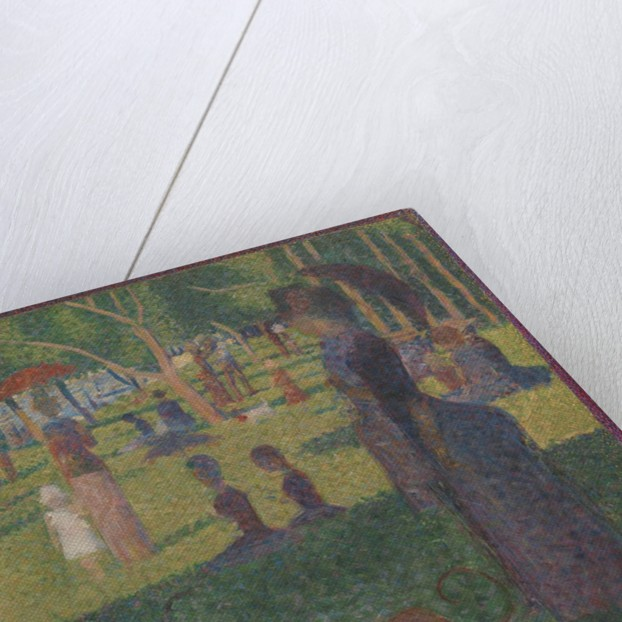 Study for 'A Sunday on La Grande Jatte', 1884 by Georges-Pierre Seurat