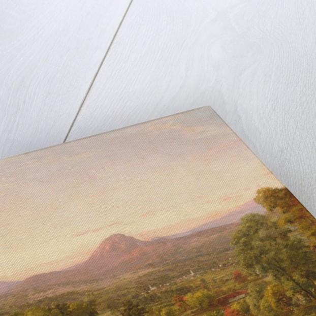 Autumn Landscape, Sugar Loaf Mountain, Orange County, New York, ca. 1870-75 by Jasper Francis Cropsey