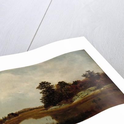 October in the Marshes, 1872 by John Frederick Kensett