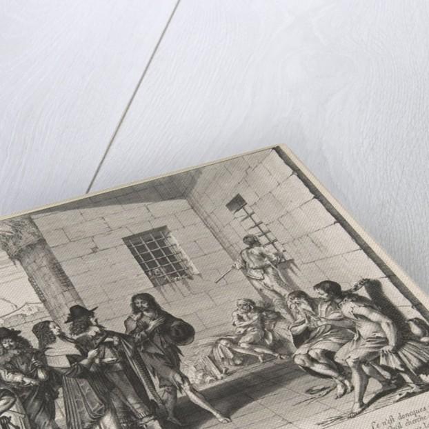 Visiting Prisoners, 1635 by Abraham Bosse