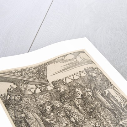 The Congress of Princes at Vienna, from the Triumphal Arch of Emperor Maximilian I, 1515 by Albrecht Dürer