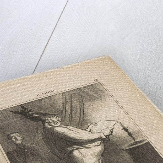 Les allies s'apprètent à pousser les opérations du siège avec plus de vigueur…, February 26, 1855 by Honore Daumier