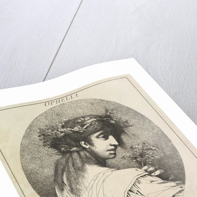 Ophelia, May 20, 1775 by John Hamilton Mortimer