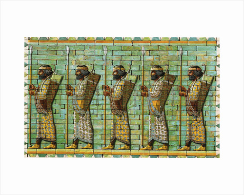 Bodyguard of Persian Kings, 6th-5th century BC by Unknown