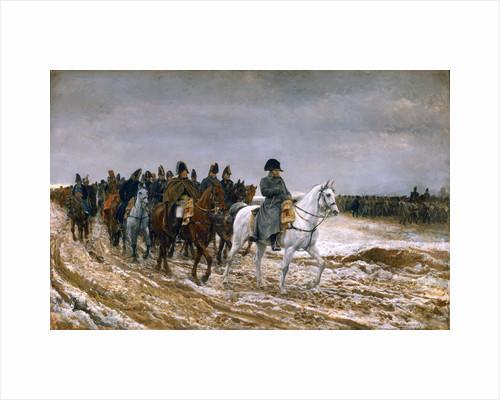 Le Campagne de France 1814 by Jean Louis Ernest Meissonier