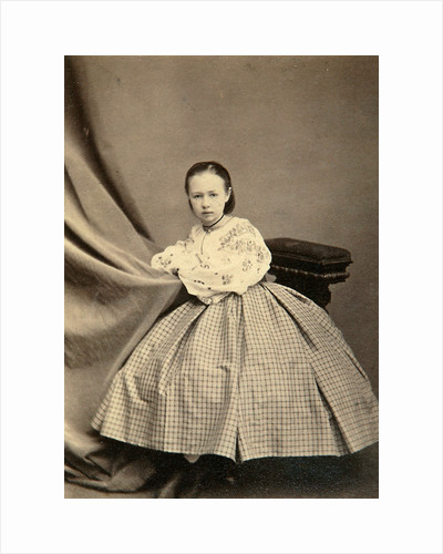 Childhood portrait of Sophia Perovskaya, 1860s by Unknown