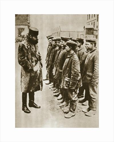 Youthful German prisoners of war, World War I, 1918 by Unknown