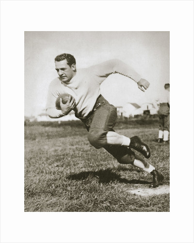Harold Edward 'Red' Grang, American Football player, mid 1920s by Unknown