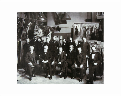 Professors of the Russian Academy of Arts, 1913 by Unknown