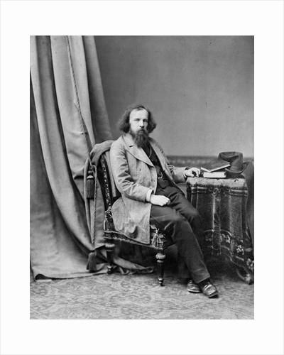 Dmitri Mendeleev, Russian chemist, c1880-c1882. by Andrei Osipovich Karelin
