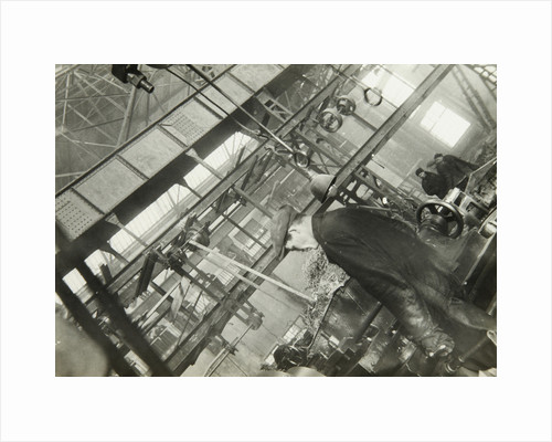 In a mechanical engineering factory, USSR, 1930s by Unknown