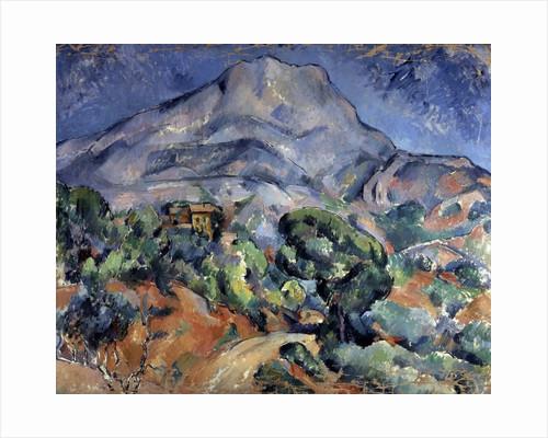 Mont Sainte-Victoire by Paul Cezanne