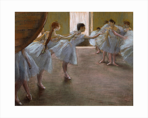Ballet Rehearsal, 1885-1890(?). by Edgar Degas