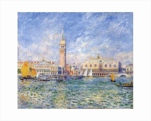 Venice, (The Doge's Palace) by Pierre-Auguste Renoir