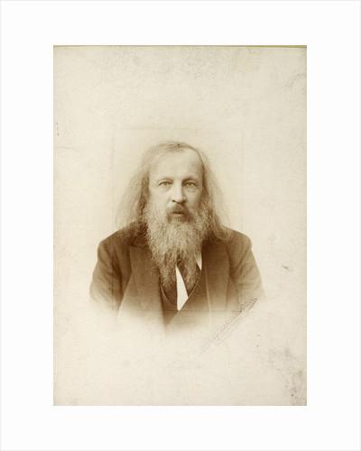 Dmitri Mendeleev, Russian chemist, c1890-c1907(?) by Unknown