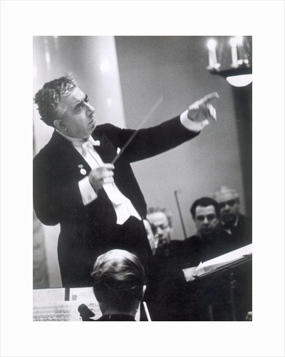 Aram Khachaturian, Soviet-Armenian composer, 1960s by Unknown