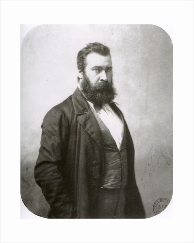 Jean-François Millet, French painter, c1860s by Nadar