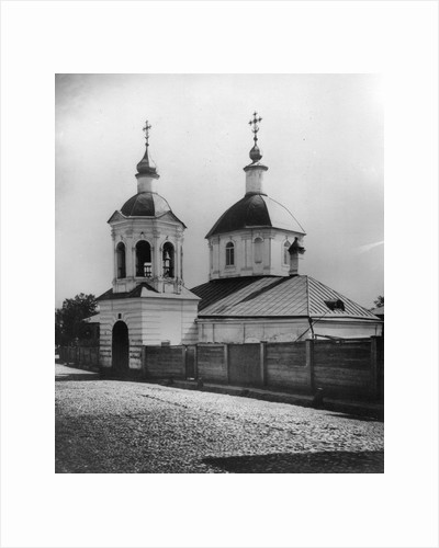 Church of St Sergius of Radonezh, Petrovsky Boulevard, Moscow, Russia, 1881. by Scherer Nabholz & Co