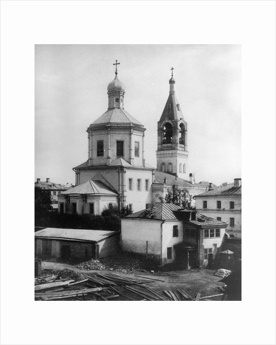 Church of St Elias the Prophet, Moscow, Russia, 1881. by Scherer Nabholz & Co