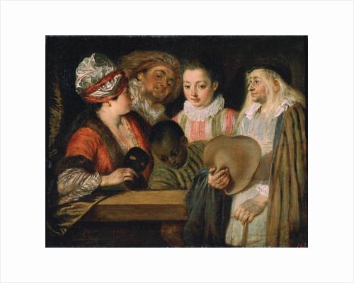 Actors of the Comédie Française, 1711-1712. by Jean-Antoine Watteau