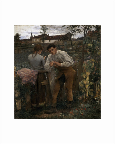 Rural Love, 1882 by Jules Bastien-Lepage