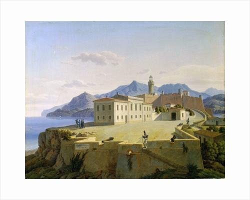Napoleon Bonaparte in Portoferraio, 1814 (1839). by Leo von Klenze
