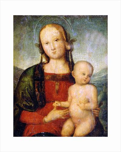 Virgin and Child, late 15th century by Perugino