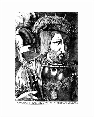Francis I, King of France, 1536. by Jacques Prevost