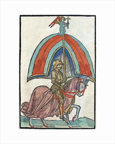 Illustration from Richentals illustrated chronicle, 1480s. by Anonymous
