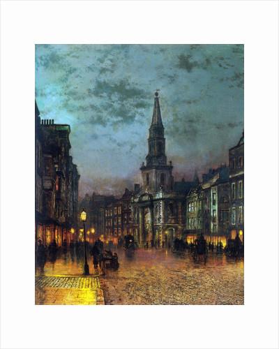 Blackman Street, London, 1885. by John Atkinson Grimshaw