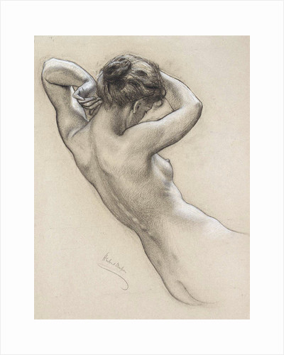 Study for a Water Nymph, late 19th or early 20th century. by Herbert James Draper
