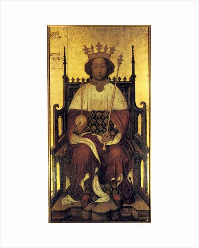 King Richard II of England, c1390. by Anonymous