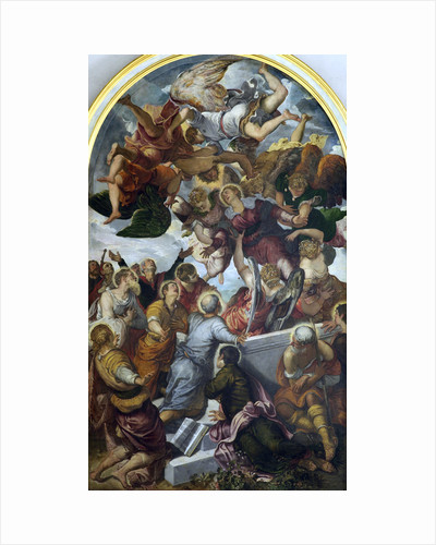 The Assumption of the Blessed Virgin Mary, c1554. by Jacopo Tintoretto