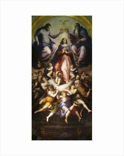 The Coronation of the Virgin, 1571. by Giorgio Vasari