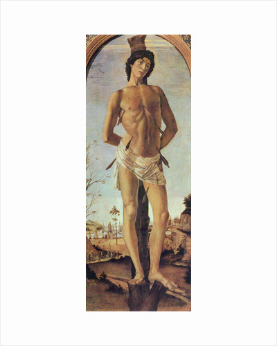 Saint Sebastian, 1474. by Sandro Botticelli