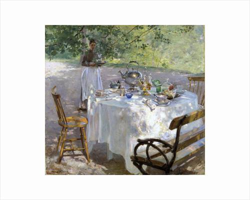 Breakfast Time, 1887. by Hanna Pauli