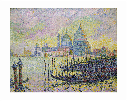 Grand Canal (Venice) by Paul Signac