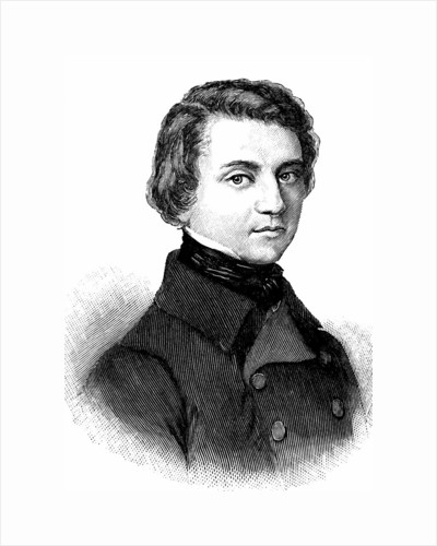 Louis Blanc, French historian and socialist politician, 19th century by Anonymous