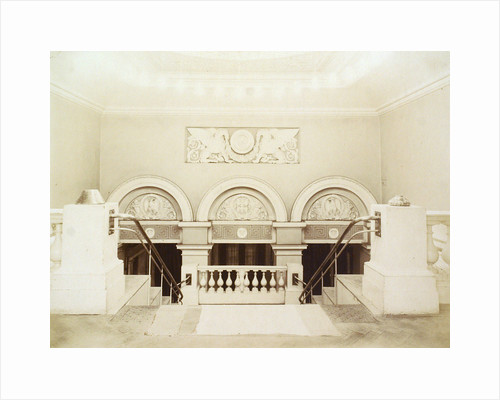 Main staircase, House of the Association of Literature and Arts, Russia, 1900s by Unknown