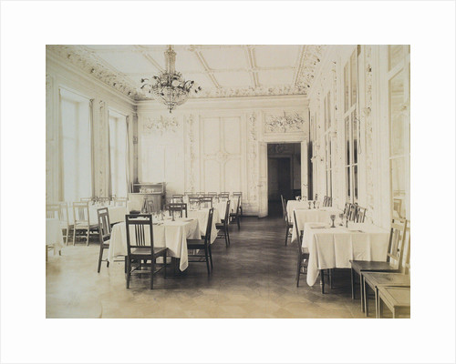 Restaurant, House of the Association of Literature and Arts, Russia, 1900s by Unknown