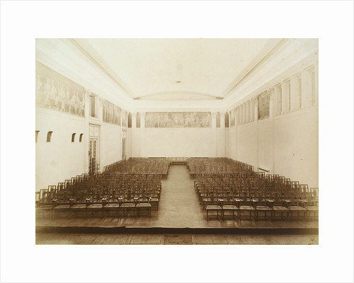 Concert hall, House of the Association of Literature and Arts, Russia, 1910s by Unknown