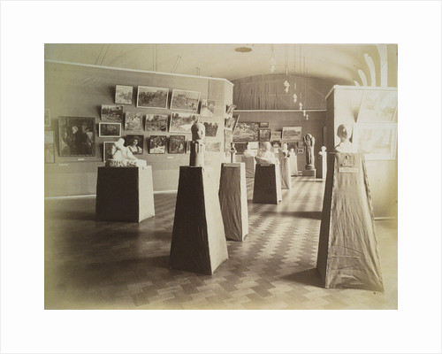 Exhibition hall, House of the Association of Literature and Arts, Russia, 1910s by Unknown