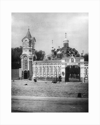 Church of the Protection of Our Most Holy Lady Theotokos, Pokrovskoye, Moscow, Russia, 1882. by Scherer Nabholz & Co