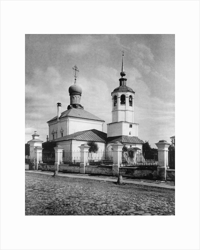 Church of the Protection of Our Most Holy Lady Theotokos, Levshino, Moscow, Russia, 1881 by Scherer Nabholz & Co