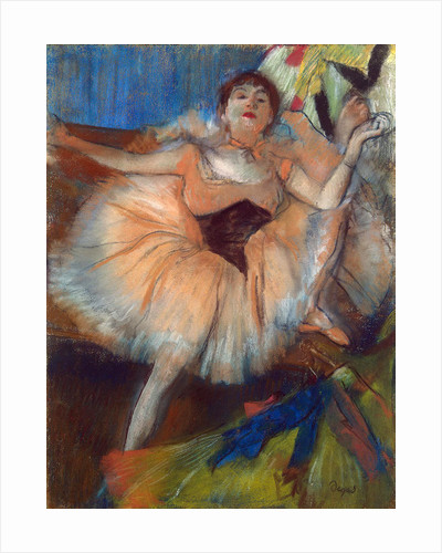 Seated Dancer by Edgar Degas