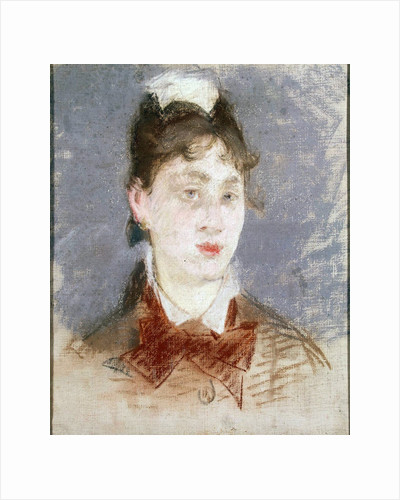 Girl in a Wing Collar, c1880 by Edouard Manet