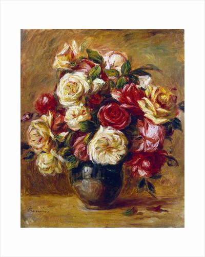 Bouquet of Roses by Pierre-Auguste Renoir