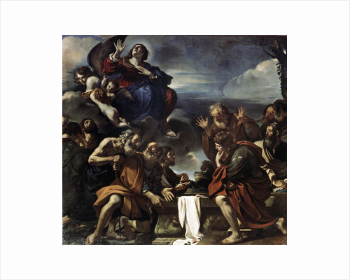 The Assumption of the Blessed Virgin Mary, 1623. by Guercino