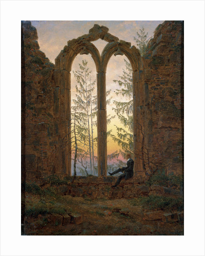 The Dreamer (Ruins of the Oybin) by Caspar David Friedrich